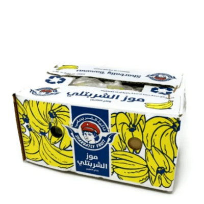 Bananas, baby size, 3 kg Carton - Sharbatly.Club