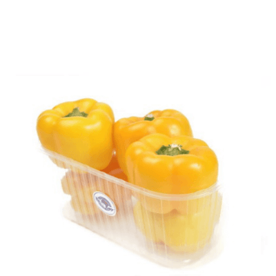 Peppers Capsicum Yellow, 1 kg Pack - Sharbatly.Club