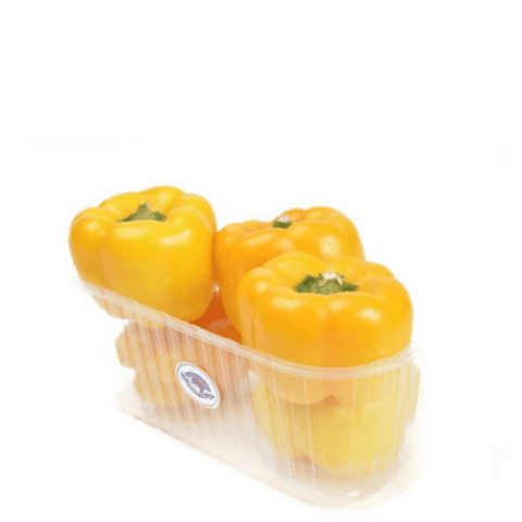 Peppers Capsicum Yellow, 1 kg Pack