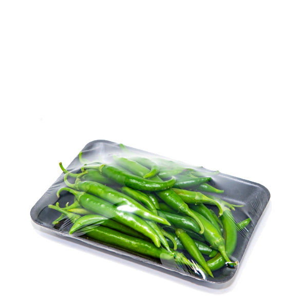 Peppers, chilli green local, 0.3 kg Pack - Sharbatly.Club