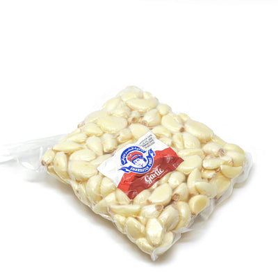 Garlic , peeled 0.5 kg pack - Sharbatly.Club
