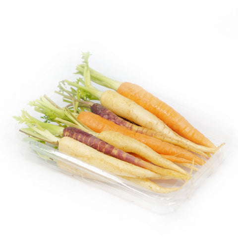 Carrots baby, rainbow 0.2 kg pack