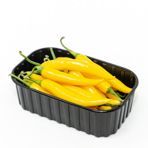 Pepper chili yellow, gold Cayenne,  0.25 kg