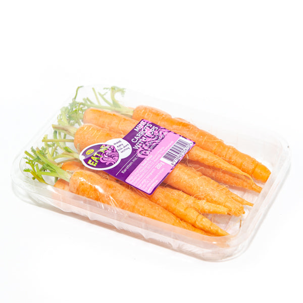 Carrot baby, whole, 0.2 kg pack - Sharbatly.Club