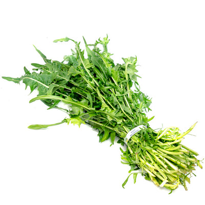 Dandelion leaves, green 0.35 kg bunch
