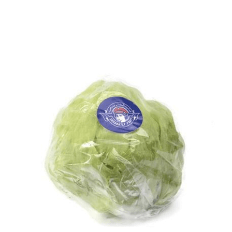 Lettuce, Iceberg, single piece