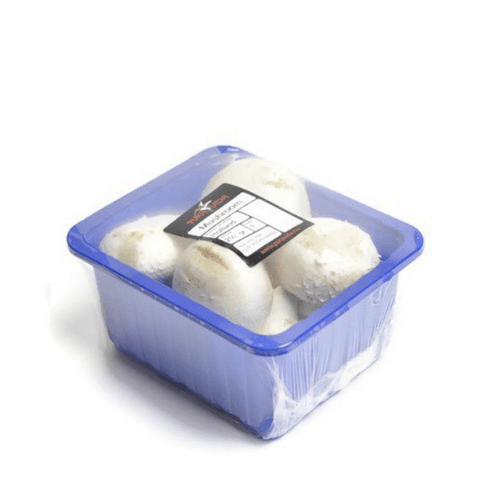 Mushrooms, white, 0.25 kg Pack