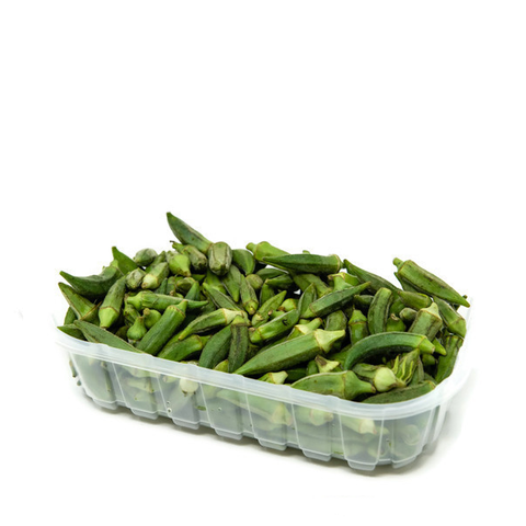Okra, small-medium, 0.5 Kg Pack