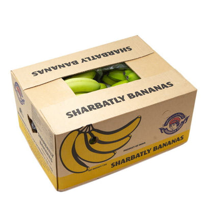 Bananas cavendish Indian, 7 kg box - Sharbatly.Club
