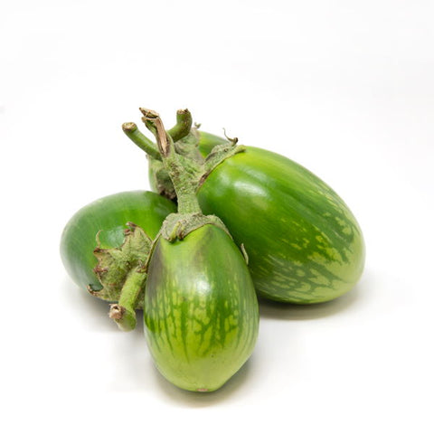 Eggplants, green Doll , 1 kg pack
