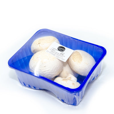 mushrooms giant white, silver dollar, 0.4 kg pack - Sharbatly.Club