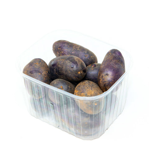Potatoes Vitelotte, purple, 1 Kg Pack