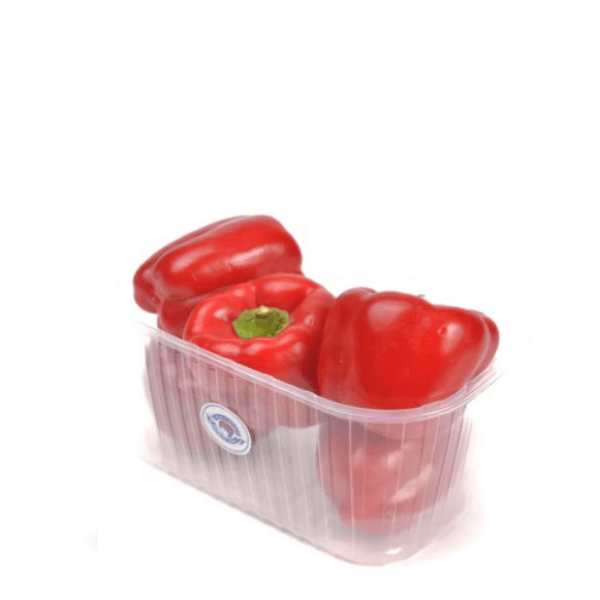 Peppers, Capsicum Red, 1 kg Pack - Sharbatly.Club