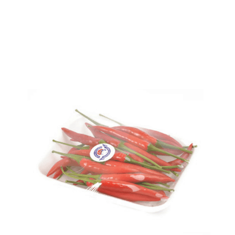 Chilies, baby Thai, Red, 0.1 kg Pack