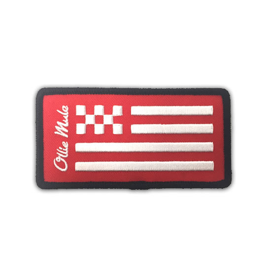 Checkered Flag Patch