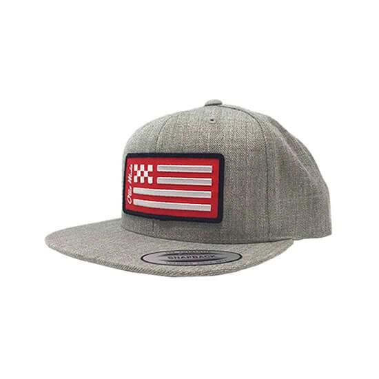 Checkered Flag Snapback