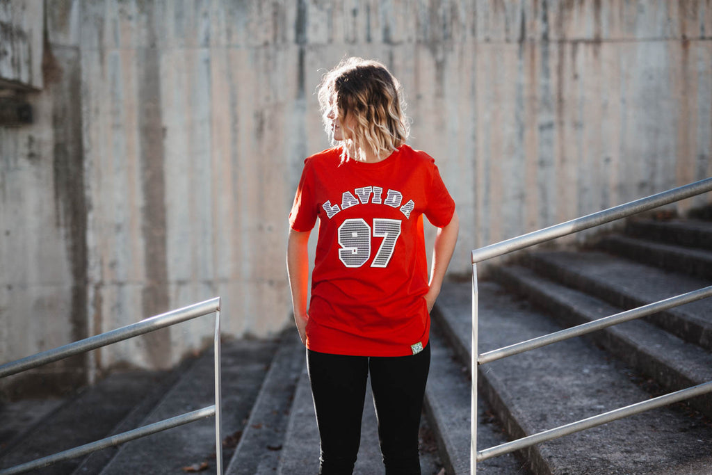 Camiseta 97 Manga Corta Red