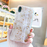 Marble style iPhone case