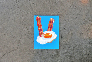 Breakfast on Canvas 6x8""