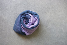 Becksondergaard Scarf - Navy/Purple Died