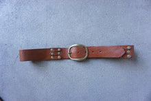 Kim White - Unisex Riveted Belt (click for more colors)