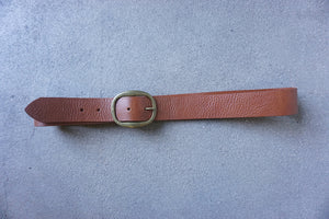 Kim White - Unisex Leather Belt (click for more colors)