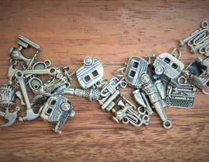 Retro Silver Charms- Assorted