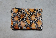 Kim White - Large Animal Print Clutch (click for more colors)