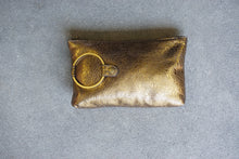 Kim White - Metallic Ring Clutch (click for more colors)