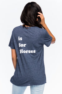 Suburban Riot - Hey Is For Horses Tee (asstd colors)
