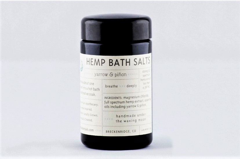 Hemp Bath Salts - Ambika Herbals
