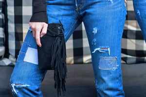 Kim White - Fringe Clutch (click for more colors)