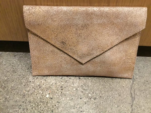 Envelope clutch-metallic