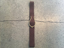 Kim White- Horseshoe Suede belts