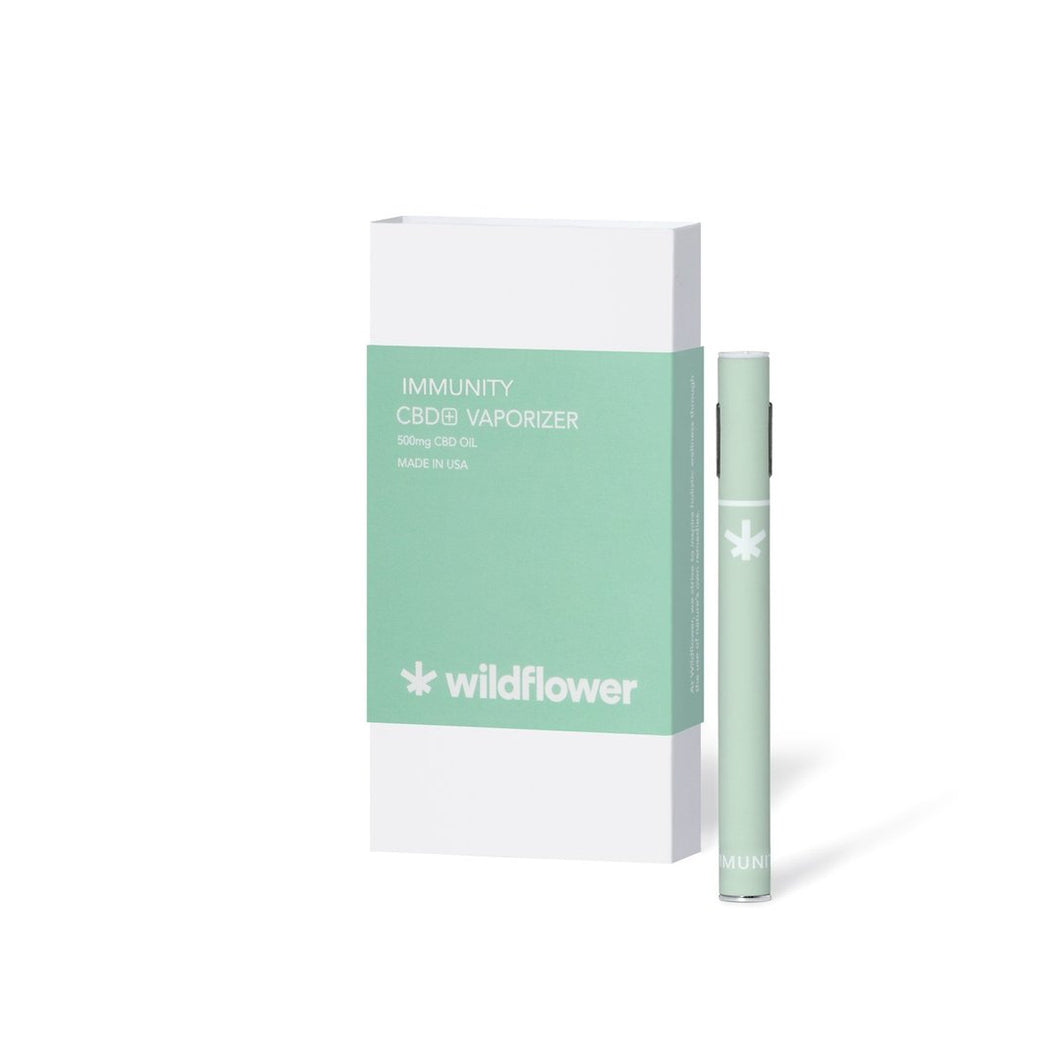 HEMP Derived Immunity Vape Pen - Wildflower