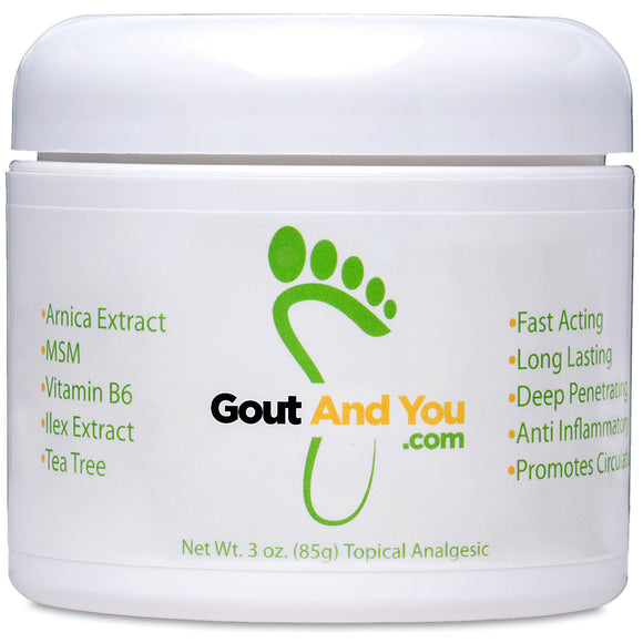 GoutandYou Therapeutic Gout Relief Cream
