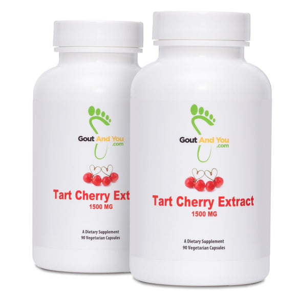 2 Bottles Tart Cherry Extract Dietary Supplement