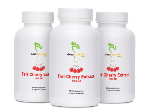 3 Bottles Tart Cherry Extract Dietary Supplement