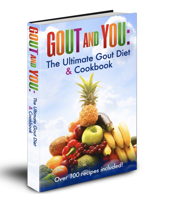 GOUT AND YOU: The Ultimate Gout Diet and Cookbook (eBook Only Version) 223 pages