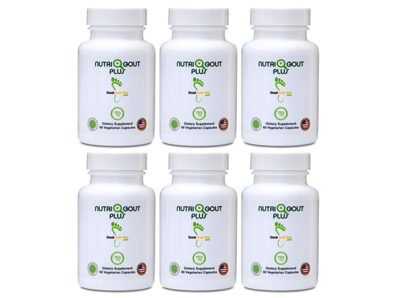 6 Bottles Nutrigout Plus