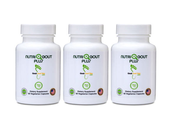 3 Bottles Nutrigout Plus