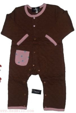 Pink Brown - Full Lenght Romper