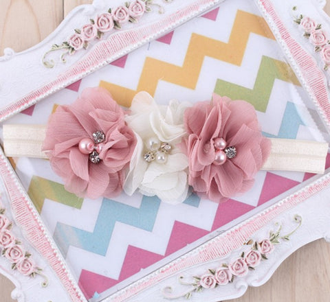 Fancy & Soft flower headband for baby