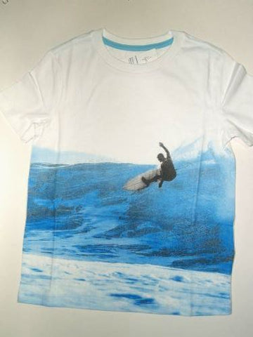 "Boys Graphic Tee ""Ride The Blue Wave"""