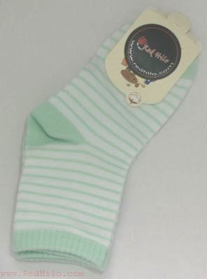 Solid Stripe Socks (Multiple Colors)
