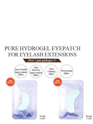 Pure Hydrogel Eye Patch Singles (A & B Type (1pr/pack))