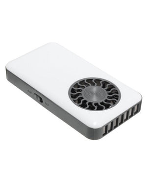 USB Mini Fan w/charger - WHITE