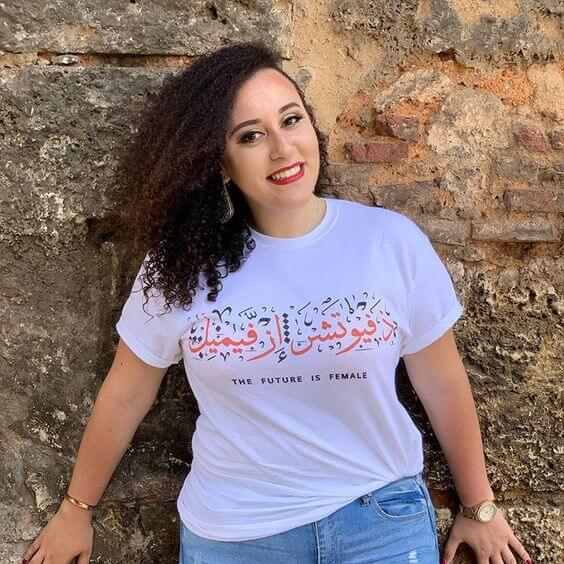 Testimonial; The Future is Female T-Shirt,Yislamoo