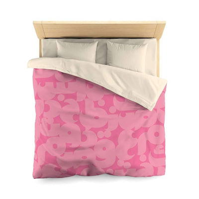 Bedding Queen / Cream Pink Duvet Cover
