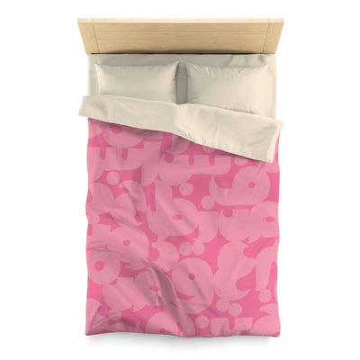 Bedding Twin / Cream Pink Duvet Cover